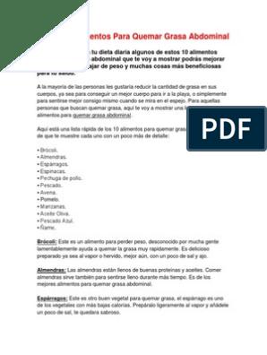 dieta para perder manteca pdf