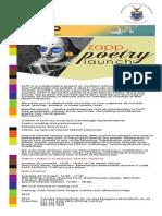 Zapp Poetry Launch Invitation