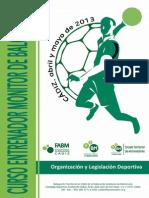 Organización y Legislación Deportiva
