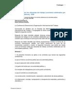 C094 Sobre Las Clausulas de Trabajo, des Publicas