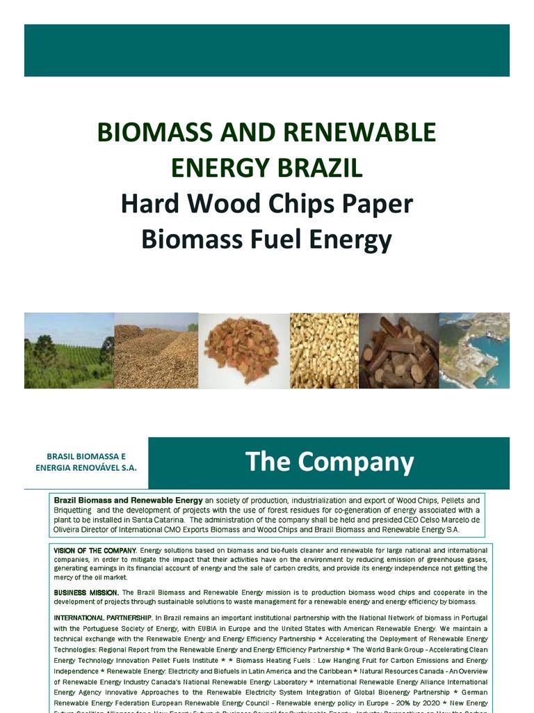 Brazil Biomass Exports Wood Chips News 2009 | Biomass
