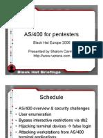 AS400 Presentation