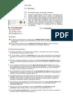 ProntAcustic - Prontuario para el estudio acústico
