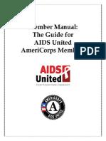 2013-2014 AmeriCorps AIDS United Member Manual