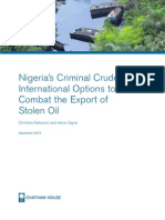 Criminal Crude by Chatham House
