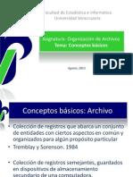 Org Archivos Conceptos Basicos