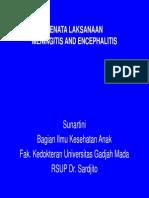 Penatalaksanaan Meningitis Encephalitis Prof Sunartini
