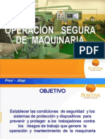 Capacitacion en Operacion Segura de Maquinas