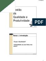 Gestão da Qualidade - slides 01 a 06