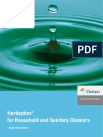 H 005 E Hordaphos for Household Cleaning