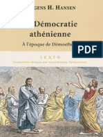 Mogens-Herman Hansen, Serge Bardet - La démocratie athénienne à l'époque de Démosthène