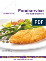 Golden Foods Product Brochure Interactive