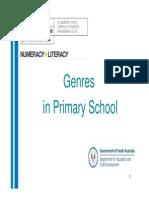Genres in Primary School 3