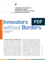 Innovation Without Borders by Kevin Dehoff & Vikas Sehgal