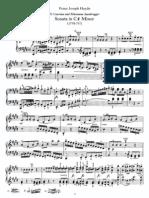 Haydn Piano Sonata No 36 in Cs