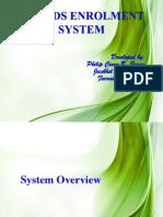 Msu-ids Enrolment System