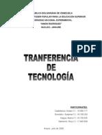 TRANSFERENCIA DE TECNOLOGIA (CONCLUSION 8)