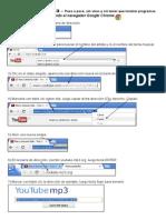 Tutorial - Cómo bajar música de youtube, sin virus y sin instalar programas adicionales