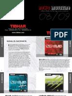 Tibhar 2008 Catalog