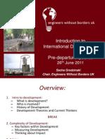 Intro to International Development - Sacha Grodzinski (2010)