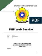 Php Web Service