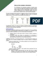 nomenclatua quimica