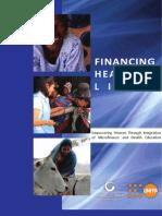 Financing Healthier Lives - MCS & UNFPA 2009