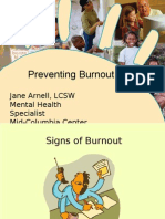Stress Mgt-Preventing Burnout[1]