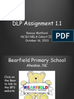 R. Watford DLP Assignment 1