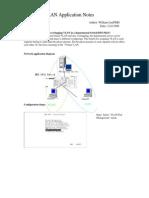 setup port-based overlapping VLAN