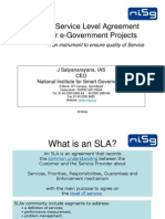 17_Defining Service Level Agreement (SLA) for E-Gov Projects