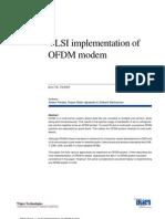VLSIimplementationOFDMmodem