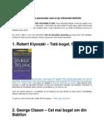 Florin Rosoga 11 Carti Care M-Au Influentat Definitiv
