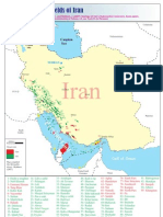 Iran Oil and Gas Fields Map (Old Reservoirs)