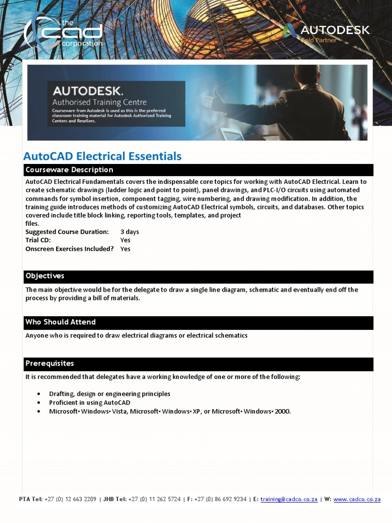 Autocad Electrical Essentials Electronic Circuits Databases Schematic