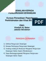 pengurusan kewangan umum