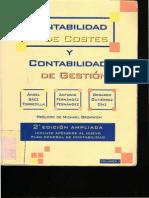 Indice Tema 1 y Tema 2 Contabilidad de Costes