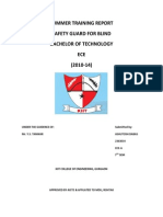 Final Report Safety Guard Blind