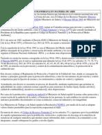 Normatividad Ambiental Colombiana en Materia de Aire