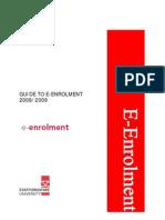 Guide to Online Enrolment v 3