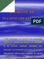 Elemente de Planificare Sanitara