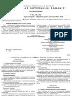 Strategia Energetic A a Romaniei 2007 2020
