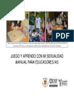 Manual de Sexualidad Para La Educarora