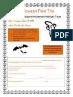 halloween field trip