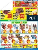 Friedman's Freshmarkets - Weekly Ad - Sep 26 - Oct 2, 2013