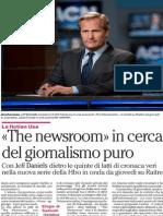 The Newsroom in cerca del giornalismo puro