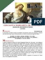 Hora santa con Santa Margarita María de Alacoque