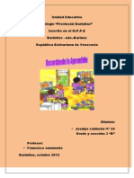 Unidad Educativa Jesulys 2013