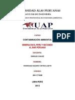 Mineria y Mar Peruano