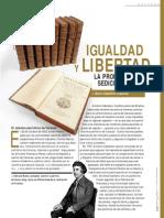 Igualdad y Libertad La Propaganda Sediciosa